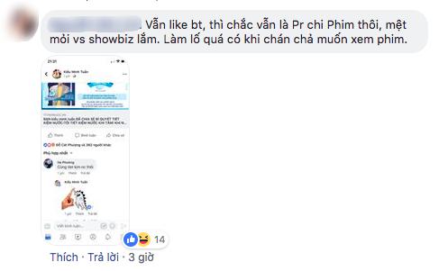 """Dư luận đặt nghi vấn clip An Nguy khóc thừa nhận chuyện tình cảm với Kiều Minh Tuấn là """"chiêu quảng bá phim"""" - Ảnh 2."""