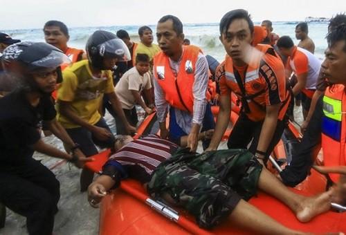 Indonesia: Phà chở 147 hành khách bốc cháy dữ dội, chìm giữa biển - ảnh 2