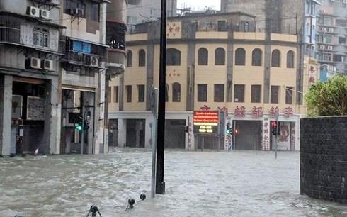 Hơn 200 người tại Hồng Kông bị thương do bão Mangkhut - ảnh 1