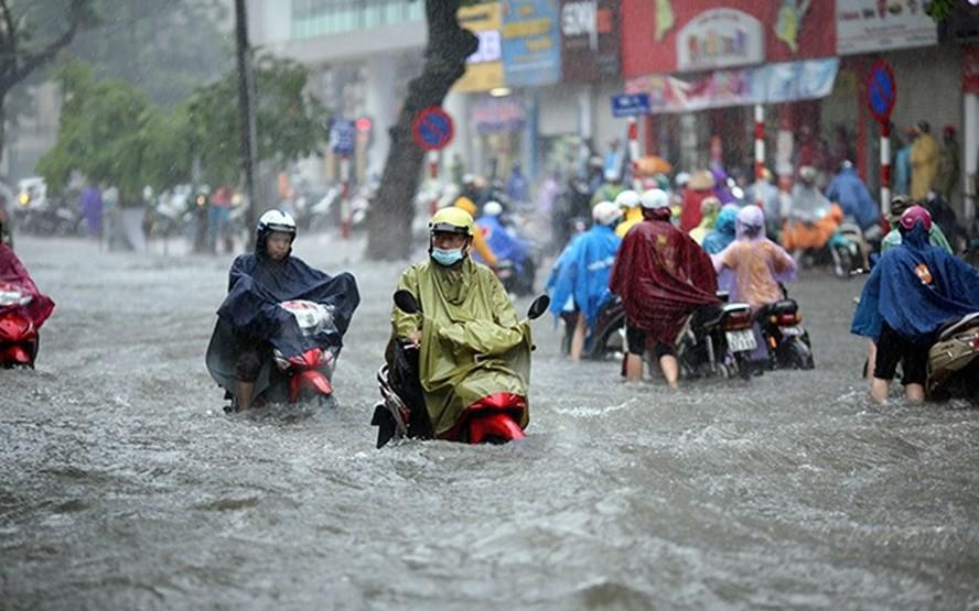 Bão Mangkhut sẽ suy yếu thành áp thấp nhiệt đới, miền Bắc mưa lớn