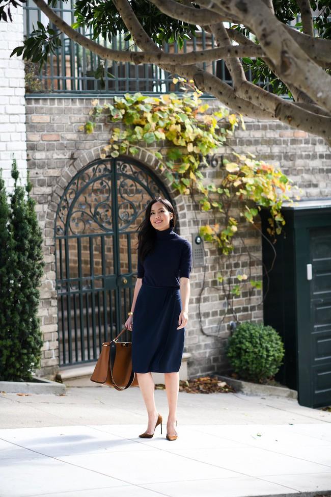 Chưa lạnh hẳn nhưng áo len và cardigan đã rục rịch phủ kín street style Châu Á tuần này - ảnh 1