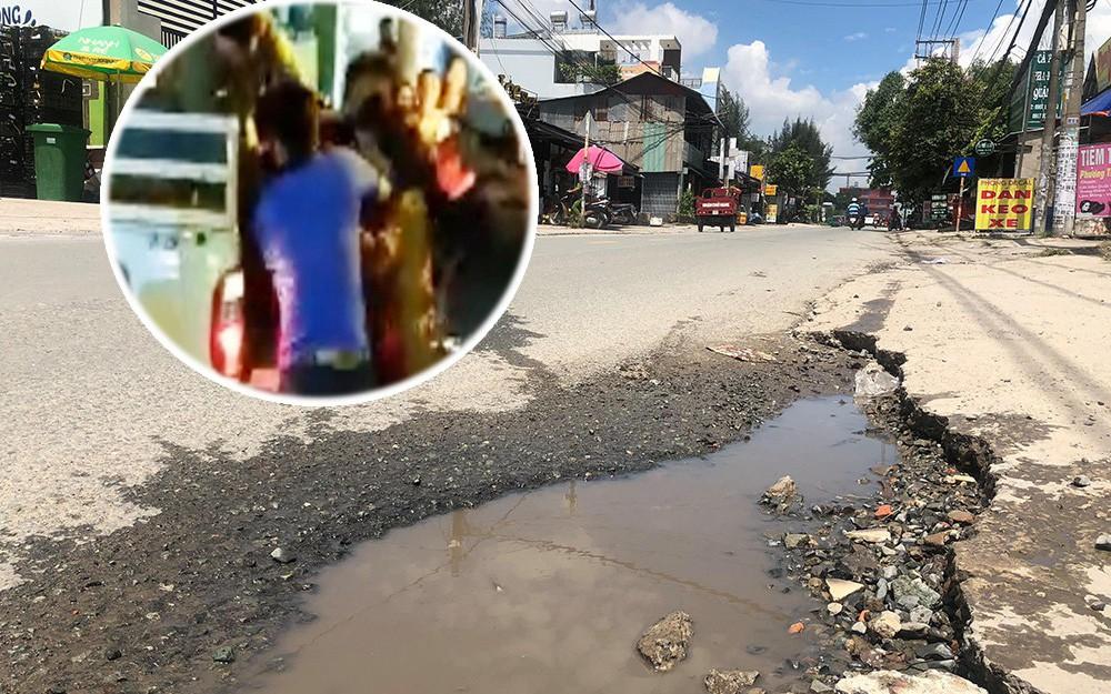 Nhân chứng vụ nam thanh niên chở bạn gái bị 4 sinh viên truy sát: Đánh chết người vì vũng nước trên đường?