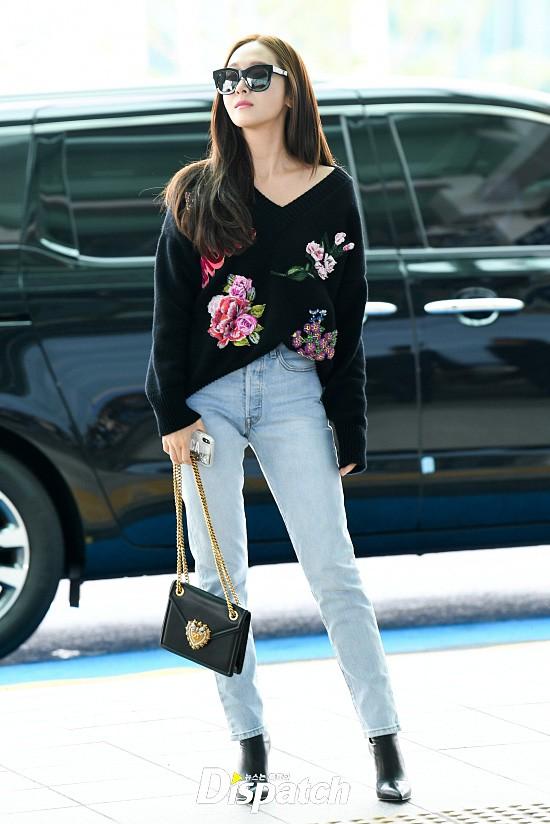 Chị em sang chảnh nhất xứ Hàn đụng độ Red Velvet: Jessica trông như bà hoàng, Krystal đẹp đè bẹp đàn em - ảnh 8
