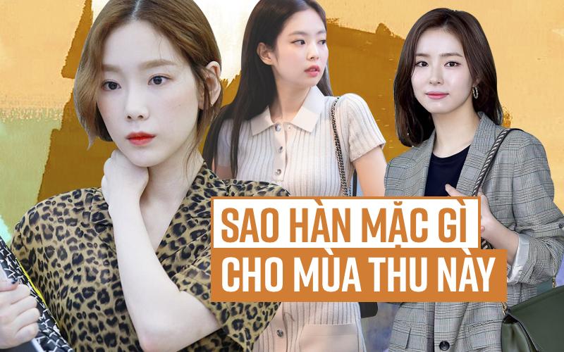 Cùng xem hot item nào được sao Hàn lựa chọn cho mùa thu này nhé