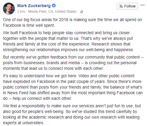 News Feed của Facebook thay đổi lớn: Ưu tiên status của bạn bè, ít hiển thị fanpage và quảng cáo - ảnh 2