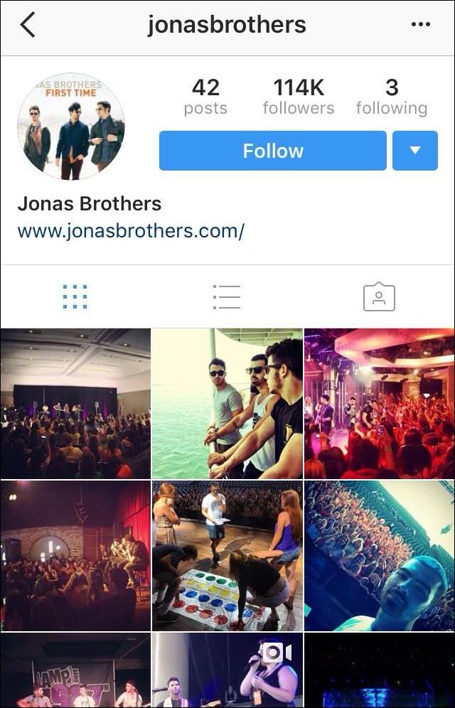 Hơn 4 năm sau khi tan rã, Jonas Brothers bất ngờ mở lại tài khoản Instagram khiến dân tình thấp thỏm - Ảnh 1.