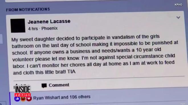 Con gái phá phách ở trường, mẹ Mỹ nghĩ ra một cách phạt độc đáo mà phụ huynh nào nghe xong cũng khen nức nở - ảnh 2
