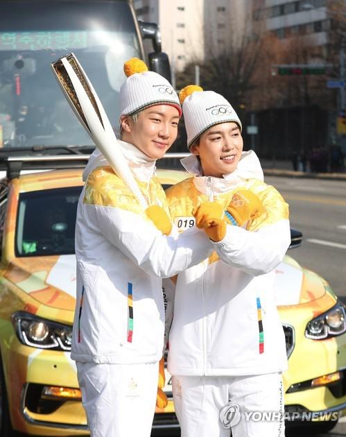 Lóa mắt trước dàn sao hạng A rước đuốc chào Thế vận hội mùa đông 2018: Hết nữ thần lại đến nam thần hội tụ - Ảnh 25.