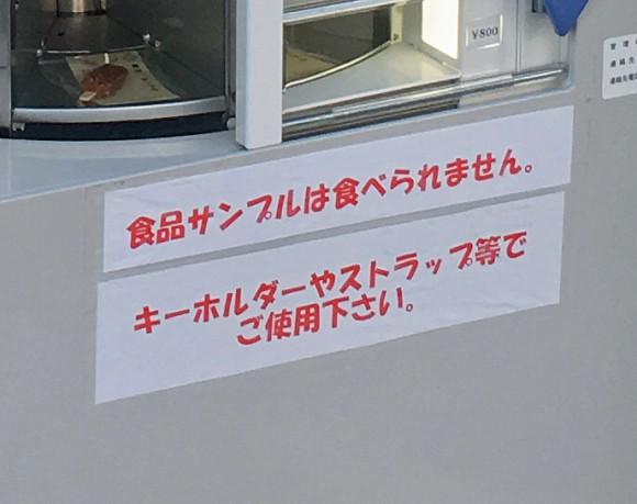 Nhật Bản có cả máy bán mô hình đồ ăn giả tự động, trông ứa nước miếng vì tưởng thức ăn thật - ảnh 4
