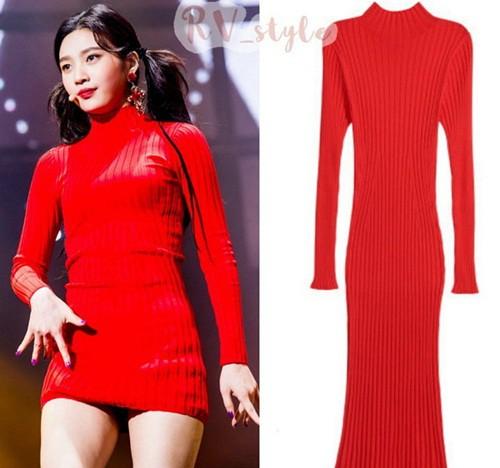 Vì sở thích cắt váy của stylist mà các thành viên Red Velvet không ít lần phải lo nơm nớp - ảnh 4