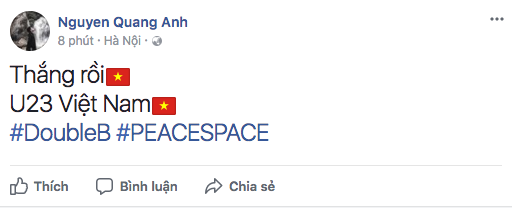 Sao Việt đang vỡ òa trước chiến thắng lịch sử của đội tuyển Việt Nam tại tứ kết U23 châu Á! - Ảnh 10.
