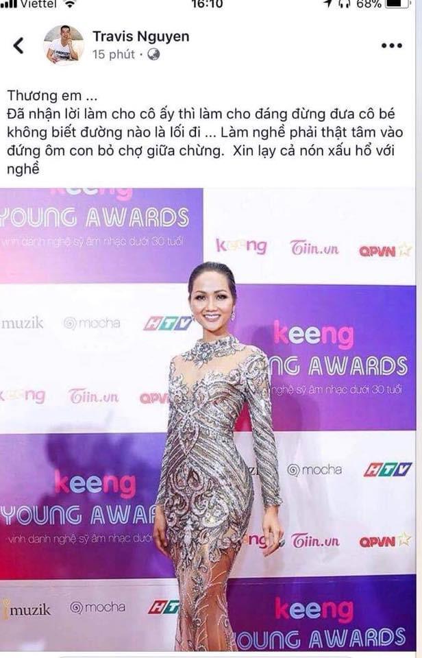 Đại chiến stylist: Chê H'Hen Niê mặc xấu, cựu stylist của Phạm Hương bị ekip tân Hoa hậu vỗ mặt - ảnh 1
