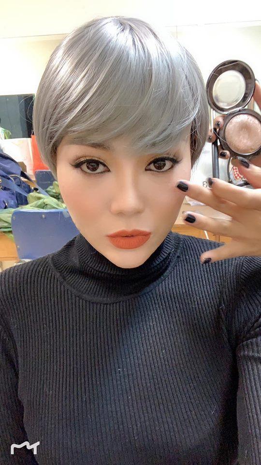 Sau Phương Oanh đến lượt Thanh Hương Quỳnh búp bê bị đồn thẩm mỹ vì gương mặt khác lạ - Ảnh 4.