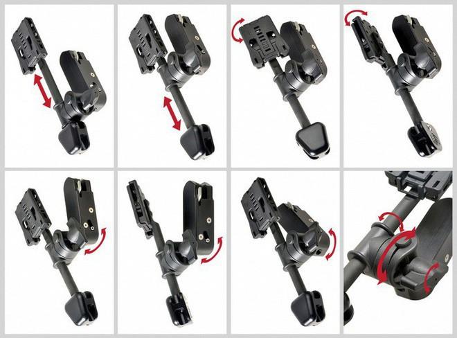 Lấy ý tưởng từ chân máy ảnh, nhiếp ảnh gia Nhật Bản chế tạo móc treo bao súng giúp bắn nhanh như Lucky Luke - Ảnh 2.