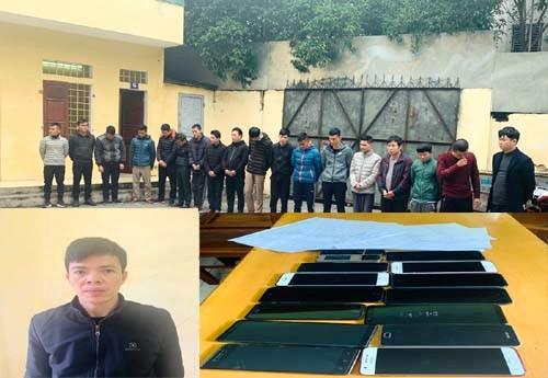 Đường dây cá độ bóng đá giao dịch 300 tỷ trong 2 tháng ở Thanh Hoá bị triệt phá - ảnh 1