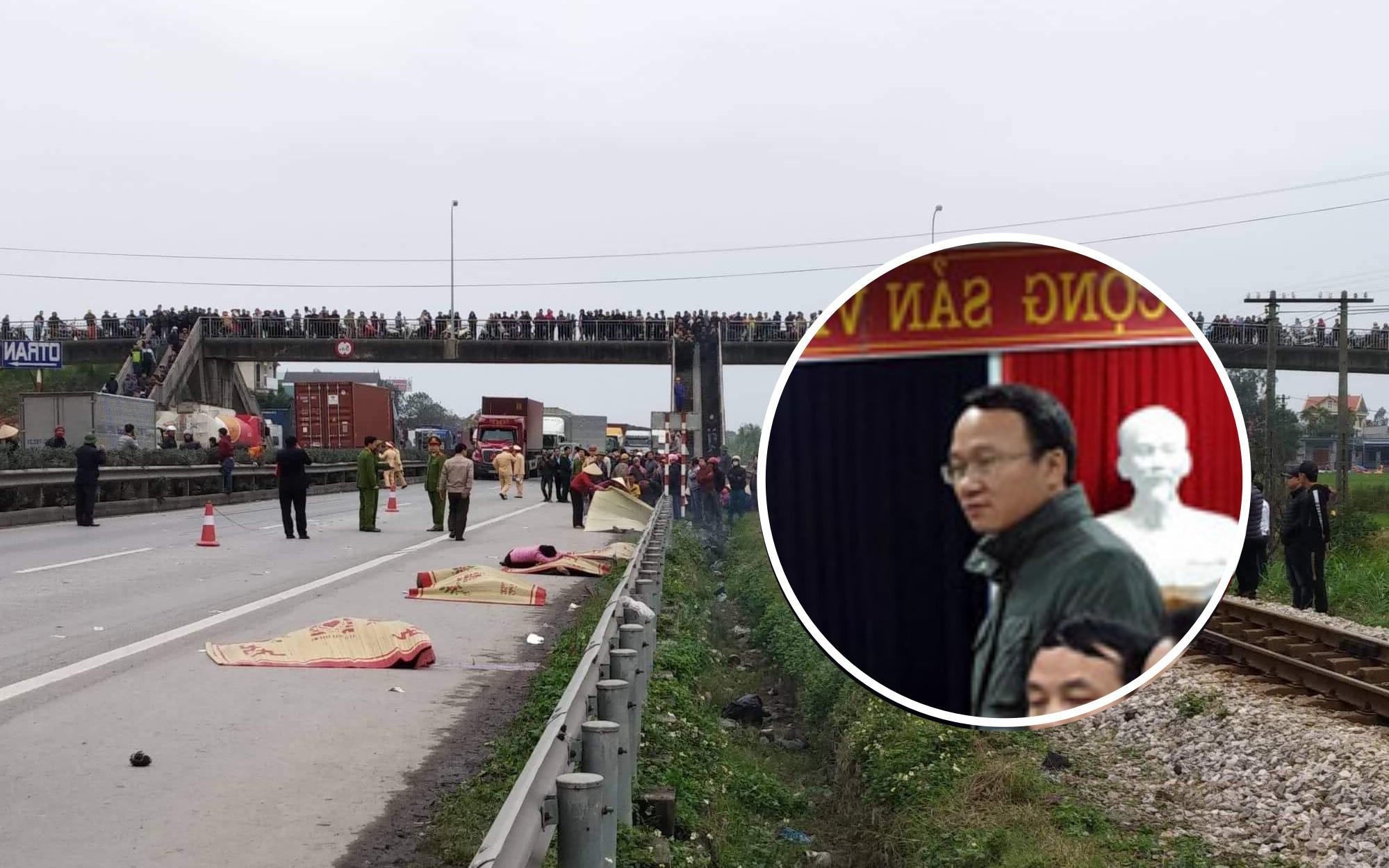 Xác định nguyên nhân ban đầu vụ tai nạn xe tải đâm 8 người tử vong ở Hải Dương