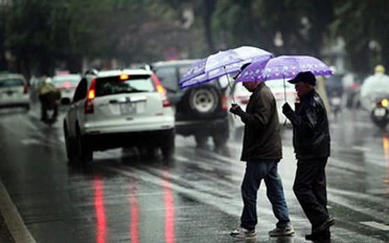 Xuất hiện khối không khí lạnh mới, Hà Nội có mưa rào từ đêm nay