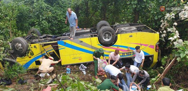 Sinh viên thoát chết kể lại giây phút kinh hoàng khi xe khách lật trên đèo Hải Vân  - Ảnh 1.