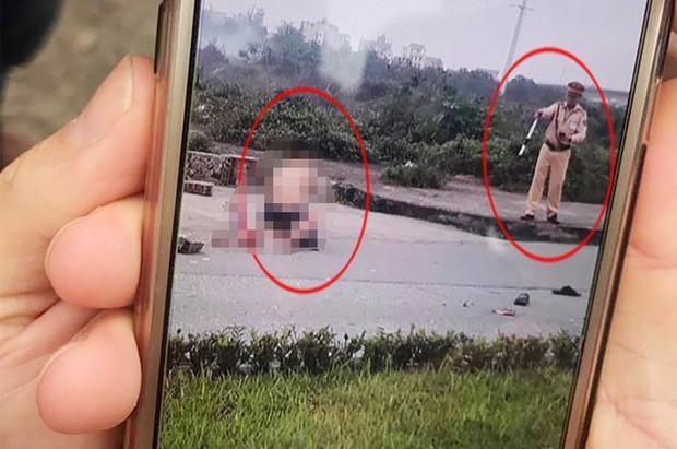 Trung tá CSGT đứng nhìn thanh niên dùng kéo đâm chết bạn gái ở Ninh Bình bị giáng giáng cấp bậc hàm - ảnh 1