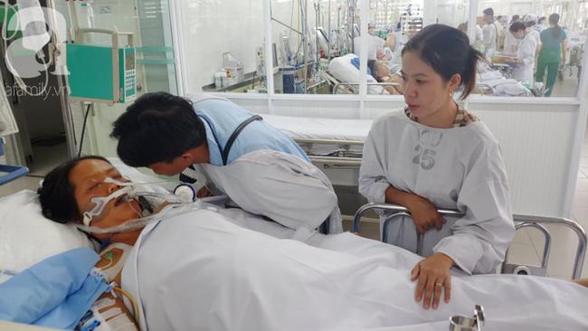 Thai phụ sắp sinh thì nguy kịch, đứa con mất trong bụng mẹ, người chồng đau đớn thì thầm với vợ đang hôn mê: Con mất rồi, em tỉnh lại đi... - ảnh 6