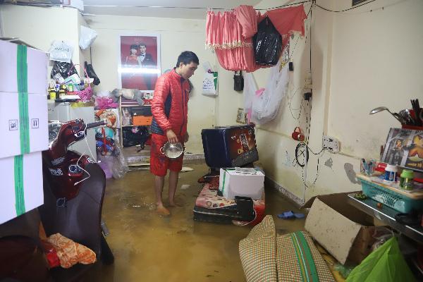 Mưa lớn kéo dài, hơn 100 nhà dân ở Bảo Lộc ngập sâu trong nước - ảnh 2