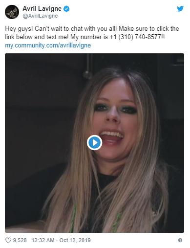 Vô tình trùng số điện thoại với nữ ca sĩ Avril Lavigne, thanh niên kêu cứu với dân mạng vì bị khủng bố mỗi ngày - ảnh 2