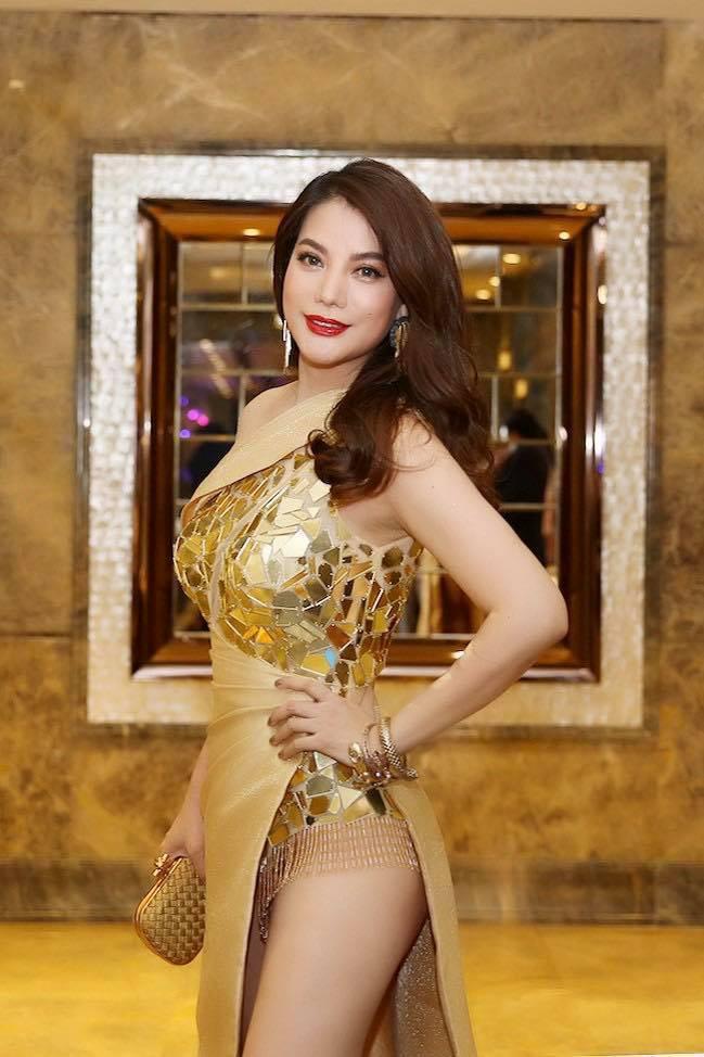 Ngập sắc vàng kim cả một thảm đỏ: Lan Ngọc đài các đúng kiểu Crazy Rich Asian, Nhã Phương long lanh tựa nữ thần - ảnh 13