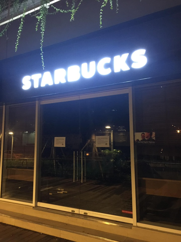8/18 cửa hàng Starbucks ở Hà Nội đóng cửa vì ô nhiễm nguồn nước - ảnh 2
