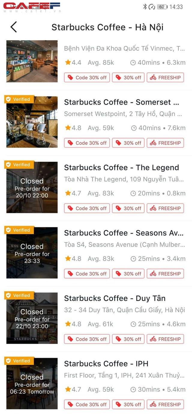 8/18 cửa hàng Starbucks ở Hà Nội đóng cửa vì ô nhiễm nguồn nước - ảnh 3