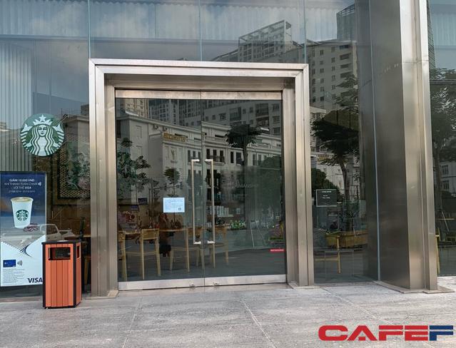 8/18 cửa hàng Starbucks ở Hà Nội đóng cửa vì ô nhiễm nguồn nước - ảnh 5