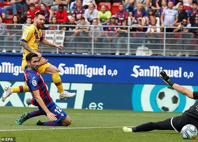 Messi, Suarez và tân binh 120 triệu euro cùng nổ súng, Barcelona đại thắng tại vòng 9 La Liga - ảnh 5