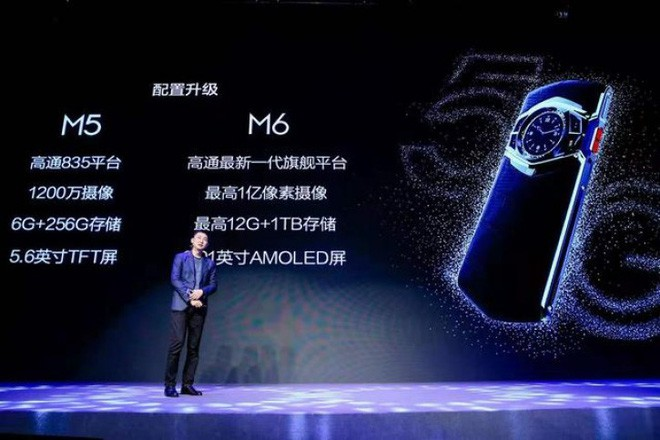 Hãng Trung Quốc ra mắt smartphone độc dị siêu khủng: Chip xịn hơn Note 10, bộ nhớ 1TB, camera 64MP, đồng hồ cơ ở mặt lưng - ảnh 2