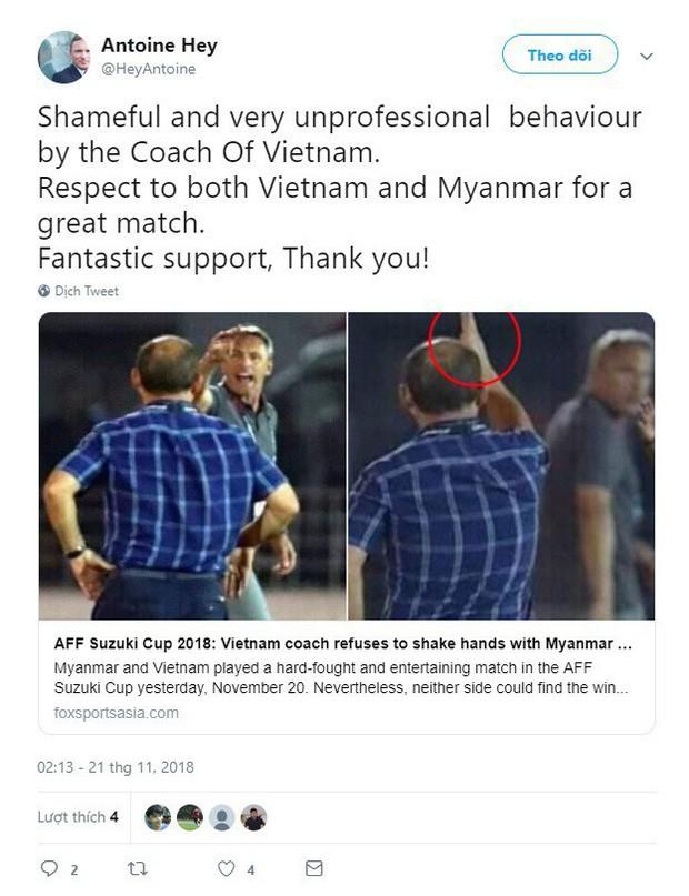Myanmar trảm tướng, bổ nhiệm người từng chỉ trích HLV Park Hang-seo thiếu chuyên nghiệp ở AFF Cup 2018 - Ảnh 3.