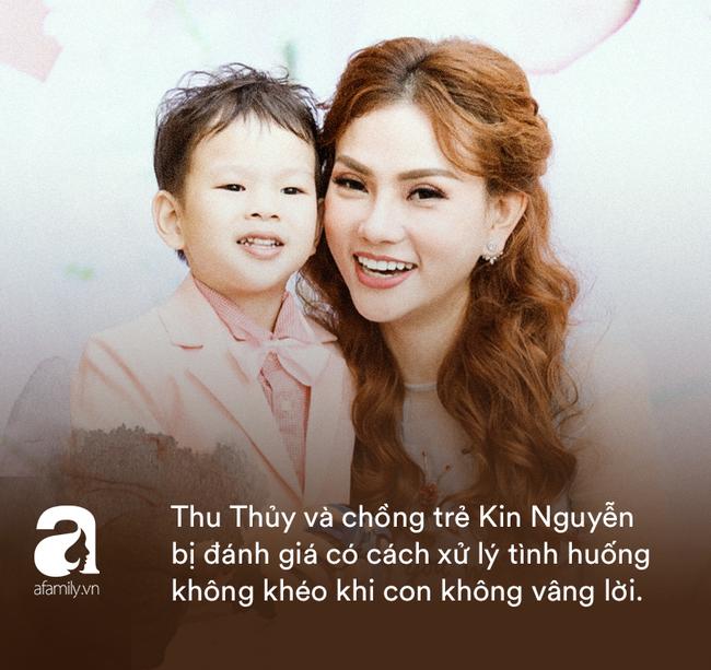 Những cách dạy con gây tranh cãi của sao Việt: Thủy Tiên, Phạm Quỳnh Anh khéo là thế vẫn bị chê trách, nhưng chưa đáng sợ bằng sự cố của Thu Thủy - ảnh 8