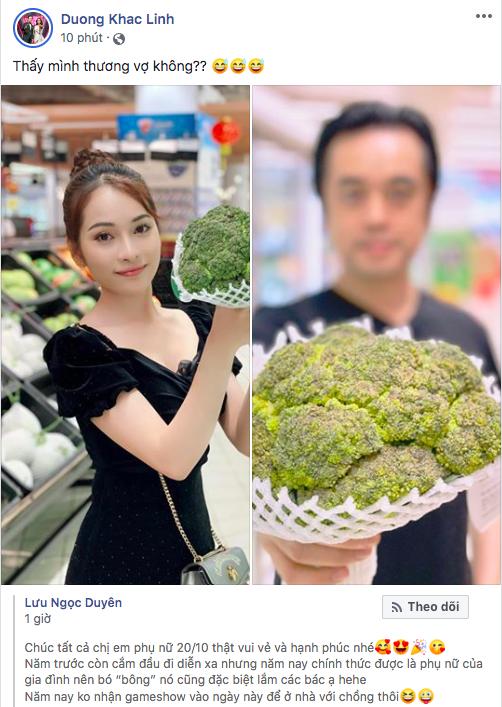 Sao Vbiz ngày 20/10: Vợ chồng Hà Tăng, Thủy Tiên cực ngọt ngào sau 10 năm gắn bó, Dương Khắc Linh tặng vợ quà khó đỡ - Ảnh 8.