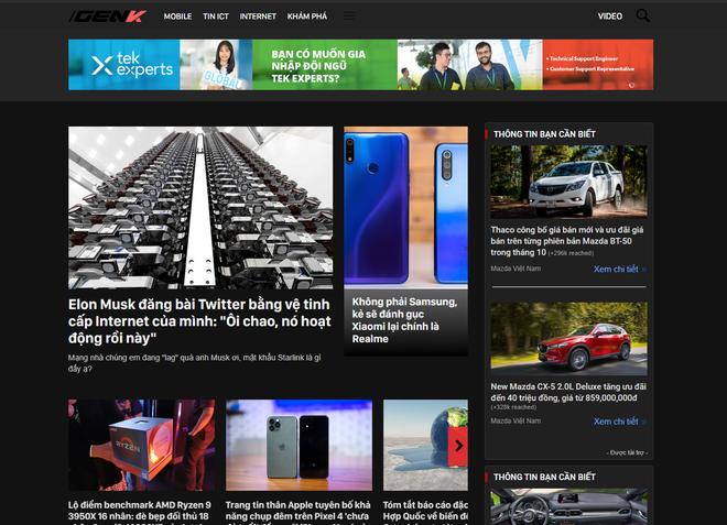 Đi đâu cũng thấy Dark Mode: Google Chrome vừa cập nhật bản mới, chỉnh được nền tối cho mọi trang web - ảnh 1