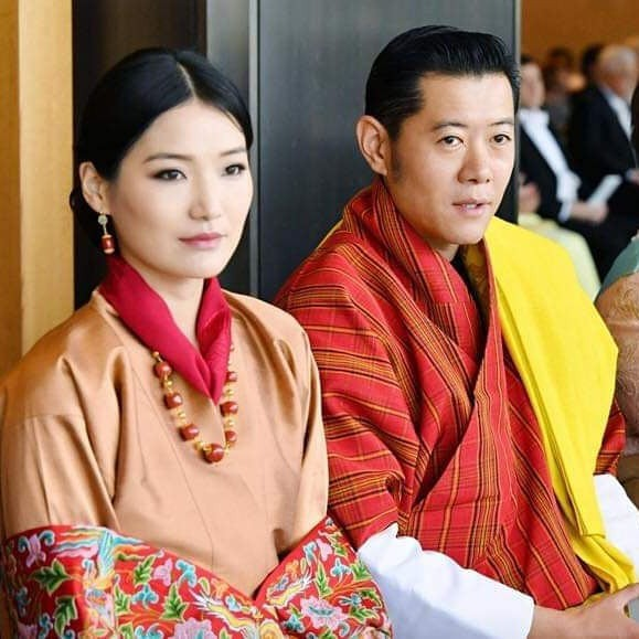 Cộng đồng mạng phát sốt với vẻ đẹp thoát tục không góc chết của Hoàng hậu Bhutan ở Nhật Bản khi tham dự lễ đăng quang - ảnh 3