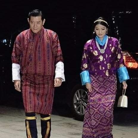 Cộng đồng mạng phát sốt với vẻ đẹp thoát tục không góc chết của Hoàng hậu Bhutan ở Nhật Bản khi tham dự lễ đăng quang - ảnh 7