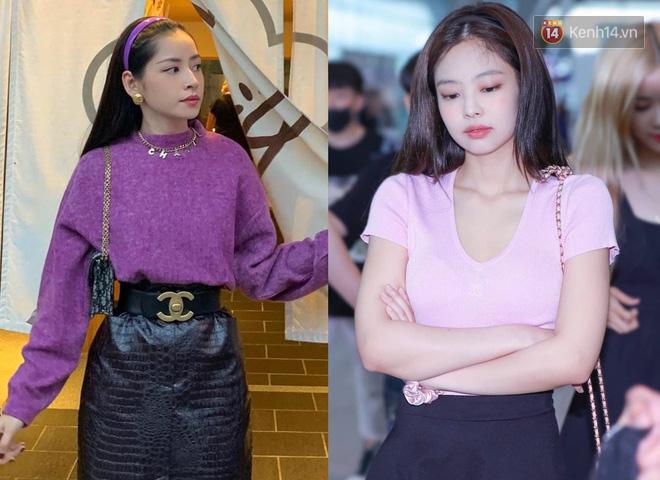 """Kha khá lần lên đồ na ná, Chi Pu đang dần hoá """"Jennie phiên bản Việt""""? - ảnh 3"""