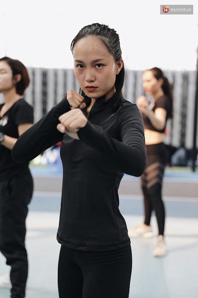 9 đả nữ tiềm năng ở buổi casting Thanh Sói: Đồng Ánh Quỳnh - Lily Nguyễn ra đòn máu lạnh, xuất hiện thêm nữ gymer cơ bắp ăn đứt Thanh Sói - ảnh 23