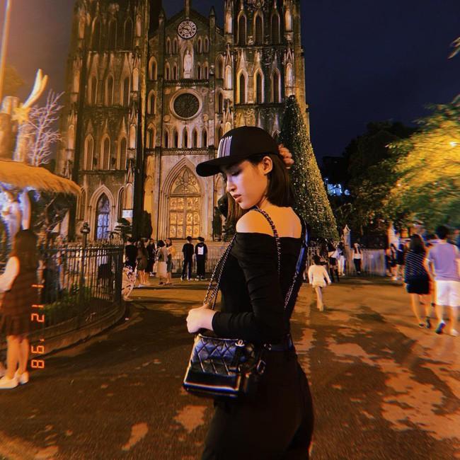Những lần diện đồ all black của các người đẹp Việt - Hàn: Từ thần thái, nhan sắc đến mix đồ đều đẹp xuất sắc - ảnh 9