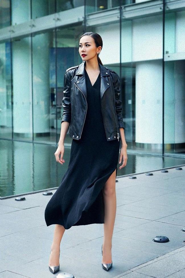 Những lần diện đồ all black của các người đẹp Việt - Hàn: Từ thần thái, nhan sắc đến mix đồ đều đẹp xuất sắc - ảnh 10
