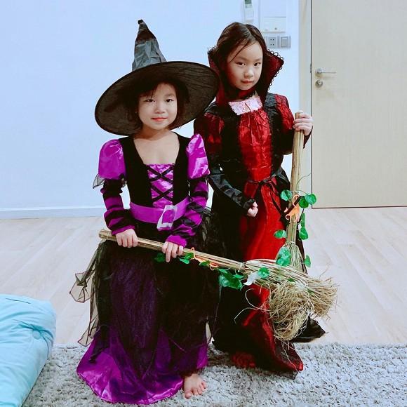 Sao Vbiz hoá trang độc đáo nhập hội Halloween, kéo đến dàn nhóc tỳ mới thích mắt vì như lạc vào thế giới phép thuật - ảnh 11