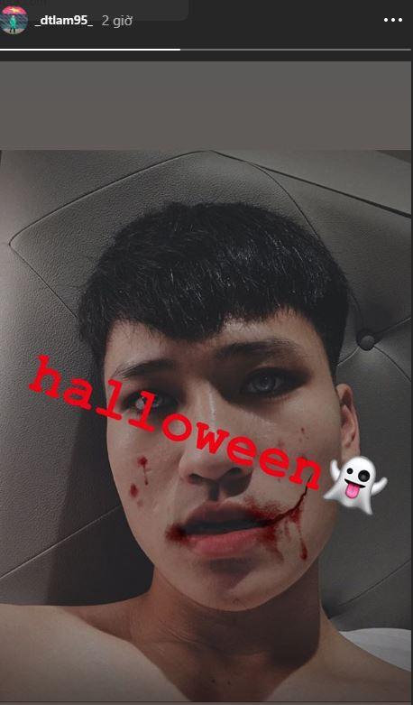 Văn Hậu, Hồng Duy hóa trang Halloween đáng sợ, người được mong chờ màn cosplay nhất lại không xuất hiện - ảnh 4