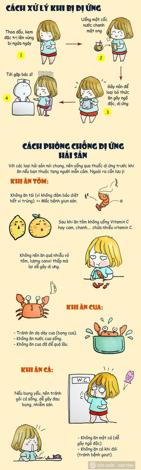 Chi Pu bị dị ứng hải sản ở Nhật khiến da mẩn ngứa, bạn cũng cần lưu ý khi ăn món này - ảnh 9