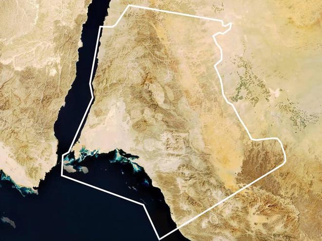 Neom, thành phố Ả Rập tham vọng nhất thế giới : có taxi bay, Mặt Trăng nhân tạo, bãi biển phát sáng, robot khủng long, cô giáo hologram và nhiều hơn nữa - ảnh 1