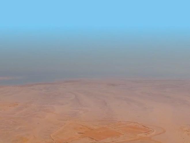 Neom, thành phố Ả Rập tham vọng nhất thế giới : có taxi bay, Mặt Trăng nhân tạo, bãi biển phát sáng, robot khủng long, cô giáo hologram và nhiều hơn nữa - ảnh 2