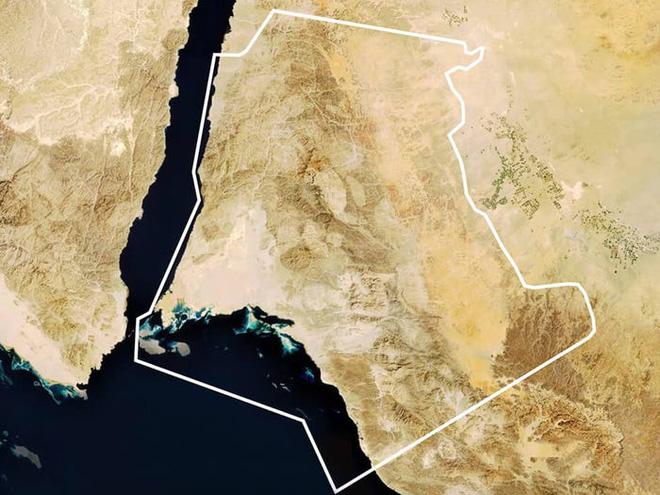 Neom, thành phố Ả Rập tham vọng nhất thế giới : có taxi bay, Mặt Trăng nhân tạo, bãi biển phát sáng, robot khủng long, cô giáo hologram và nhiều hơn nữa - ảnh 3