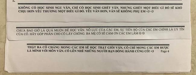 Muốn học sinh học tập chăm chỉ, cô giáo Văn kỳ công viết những lời nhắn nhủ, đọc xong ai cũng ôm bụng cười vì giúp cô thoát ế - ảnh 1