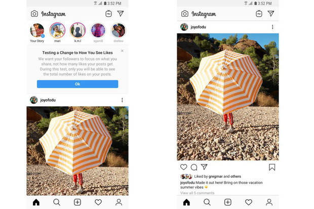 photo 1 1573438944859847228122 Instagram Việt Nam bắt đầu bỏ số Like trên ảnh